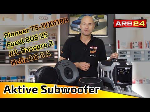 Aktive Subwoofer - Beratungsvideo ARS24