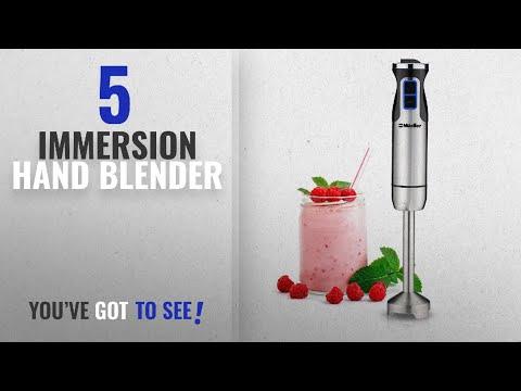 , Mueller Ultra-Stick 500 Watt 9-Speed Powerful Immersion Multi-Purpose Hand Blender