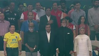 AR Rehman Singing National Anthem Of India Hero ISL Football