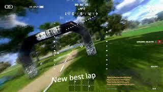 Treino de drone FPV simulador Liftoff iniciando