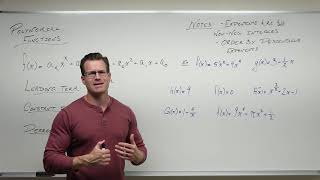 Introduction to Polynomial Functions (Precalculus - College Algebra 27)