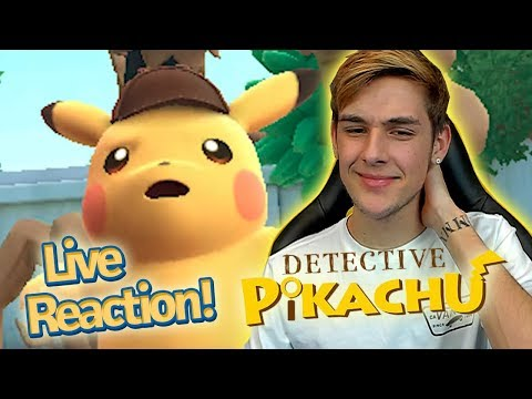 Detective Pikachu English Trailer Live Reaction! *New 3ds Pokemon Game*