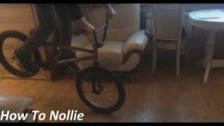 BMX How to nollie (как делать нолли на бмх)