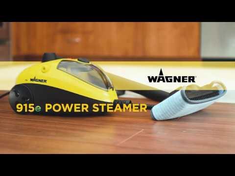 Wagner 915e On-Demand Steam Cleaner Overview Video