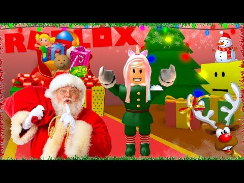 Roblox Escape Santa's Workshop Christmas Adventure Obby