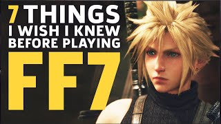 7 Things I Wish I Knew Before Playing Final Fantasy 7 Remake