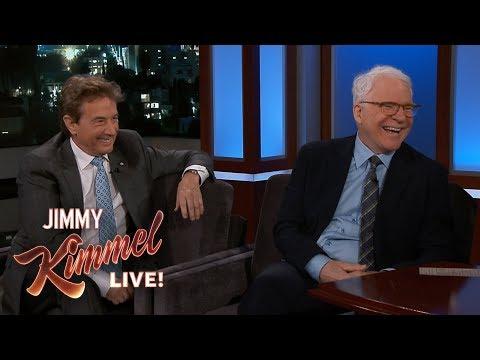 Steve Martin & Martin Short Bailed on Jimmy Kimmel's Party