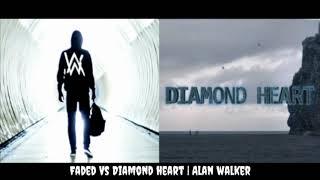 "Faded // Diamond Heart - Alan Walker 💎 ❤️ (Mashup) ""Original Mix"""