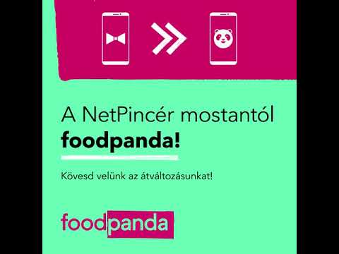 foodpanda (NetPincér) - Termékvideó