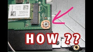 Cara Melepas Baut Laptop Yang Aus (Slek) Susah Di Lepas.
