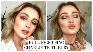 FULL FACE USING CHARLOTTE TILBURY MAKEUP 💥#FFF