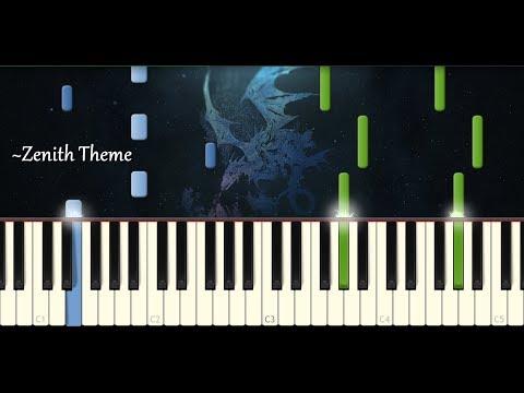 Zenith Theme, Final Fantasy XIV: Heavensward - Piano Solo