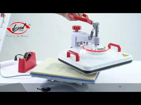 Combo Heat Press Machine - 5 in 1 (White)