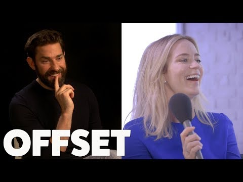 The one question Emily Blunt's always wanted to ask John Krasinski