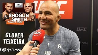 Glover Teixeira: Cormier Should Vacate Title If He Fights Lesnar l UFC Hamburg