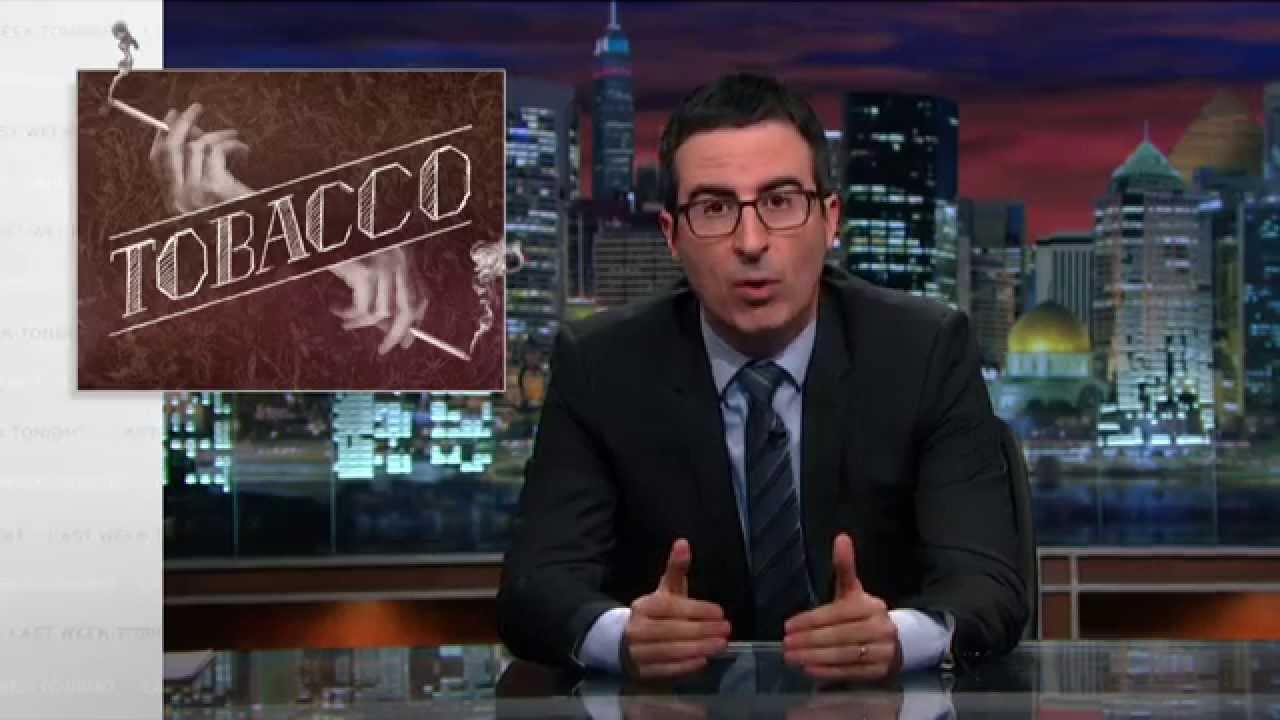 Watch John Oliver Give Australia A Big Pat On The Back For Its Plain Cigarette Packaging Laws