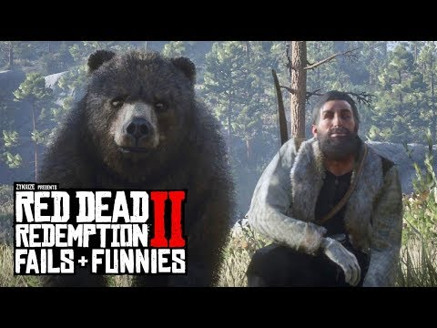 Red Dead Redemption 2 - Fails & Funnies #98