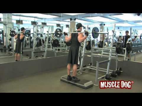 MuscleDog.com Presents: Standing Barbell Calf Raise
