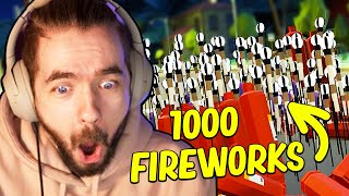 I Set Off 1,000 Fireworks And Broke Reality in Fireworks Mania