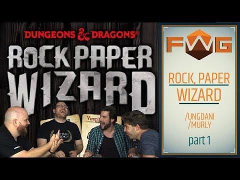 Rock, Paper, Wizard | Part 1 | Varázslónak születni kell - Fun With Geeks