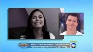 Domingo Show   Mel Reis Agradece Ao Vivo O Rodrigo Faro