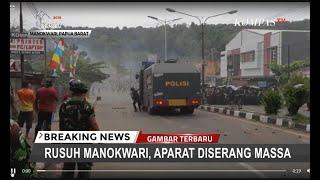 Download Video Rusuh Manokwari, Massa Serang Aparat Saat Gelar Pertemuan dengan Perwakilan Massa MP3 3GP MP4