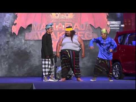 Maharaja Lawak Mega 2013 - Minggu 9 - Persembahan Bocey