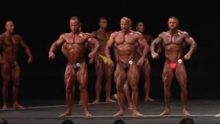 Bodybuilding Judging Example