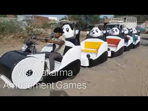 Panda Trackless Train