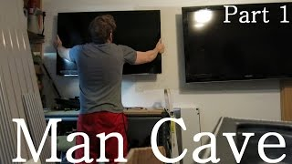 Building The Ultimate Garage Man Cave Part 1