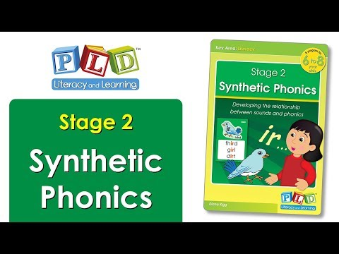 Synthetic Phonics Flip Book – Stage 1 & 2