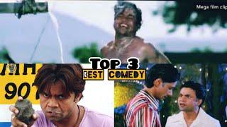 Rajpal yadav, jhon lever, best comedy scene   top 3 video clips