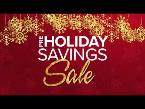 Pre-Holiday Savings - Mattress