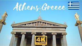 Athens Greece Travel Guide 4k Walking Tour