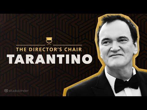 Quentin Tarantino vysvětluje, jak psát a režírovat filmy