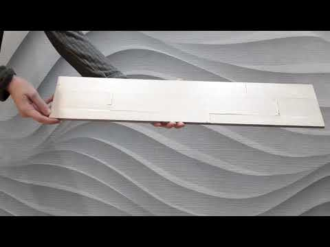 Distressed Painted Timber Wall Panels - Safari 1sqm box