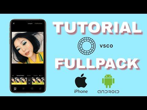 Video cara download filter vsco