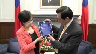 20110506馬英九總統接見日本眾議員小池百合子