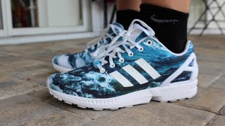 super cute 57fe2 8f00f ... where can i buy adidas zx flux ocean review on feet c4222 289b5