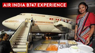 The Current and Past Air India B747 Flying Experience