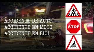¿Accidente de Auto, Moto o Bicicleta? Abogados de 1833GANASTE