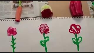 Pintem roses de Sant Jordi