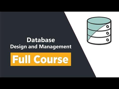 Database Management Tutorial - Database Design and ... - YouTube
