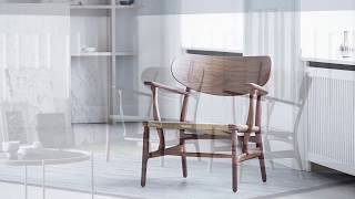 Carl Hansen & Søn - CH22 Lounge Chair By Hans J.  Wegner - English