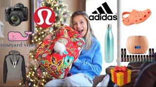 WHAT I GOT FOR CHRISTMAS 2017! (Adidas, Lulu lemon, Nike, VinyardVines, ivory ella, etc.)
