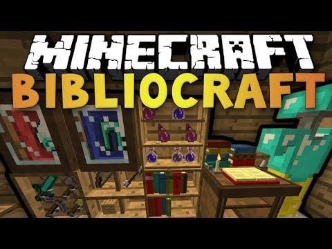 BiblioCraft Mod 1.12.2   Minecraft