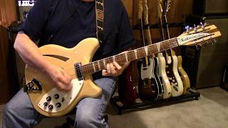 Tom Petty/The Byrds - Feel A Whole Lot Better - Guitar Cover - Rickenbacker 360/12