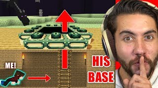Can I Hide In Someones Base Long Enough to Beat Minecraft? | Minecraft Home Invasion E5