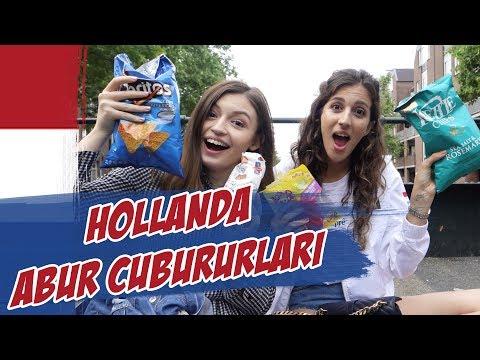 Meryem Can'la Hollanda ABUR CUBUR'larını denedik!