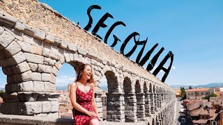 Segovia, Spain | Roman Aqueduct, The Real Disney Castle and More